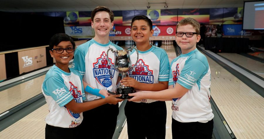 California team takes U12 title at 2017 USA Bowling National Championships
