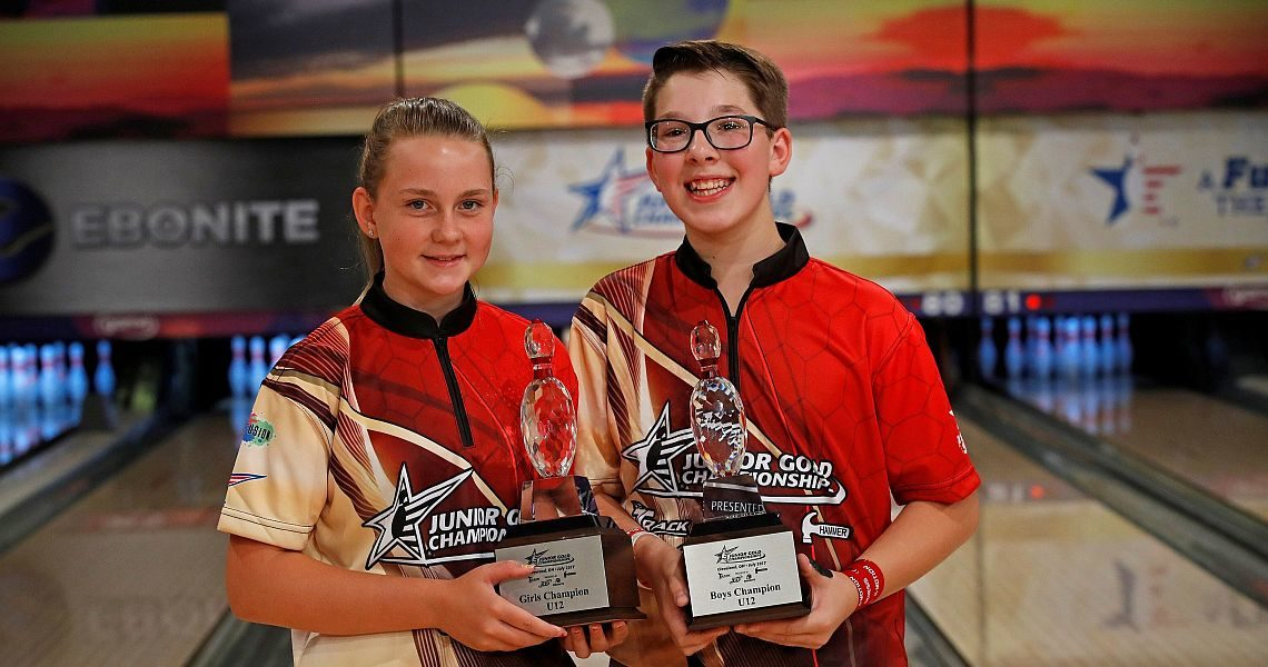 Brandon Bohn, Karina Capron claim U12 titles at 2017 Junior Gold