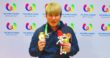 Korea's Cho Youngseon captures the first gold medal for Korea in Men's Singles