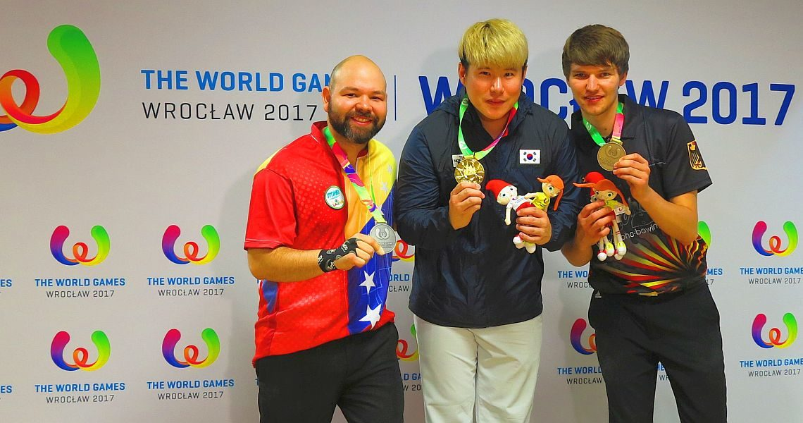 Cho Youngseon captures the first gold medal for Korea in Men's Singles