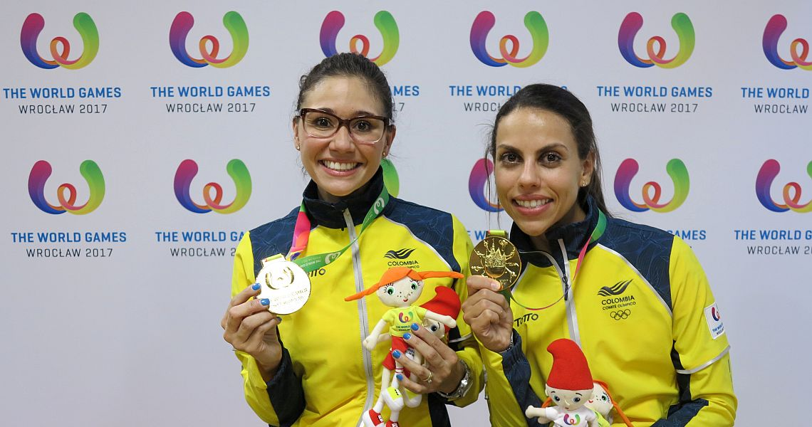 Guerrero, Restrepo win first gold for Colombian women in Doubles