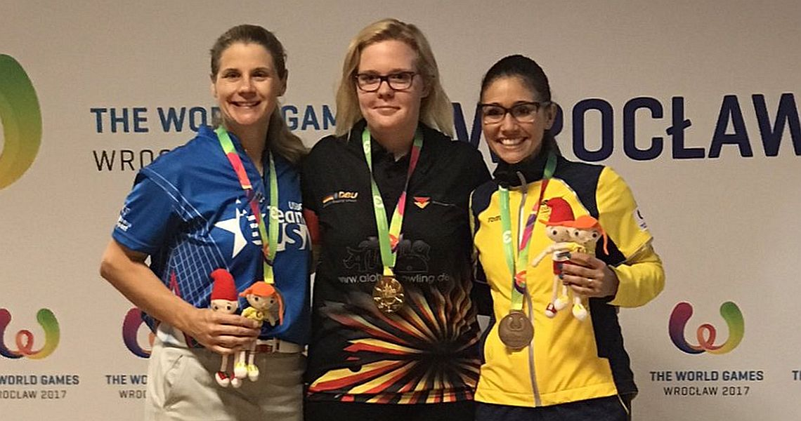 Germany's Laura Beuthner wins gold in Singles to start X World Games 2017