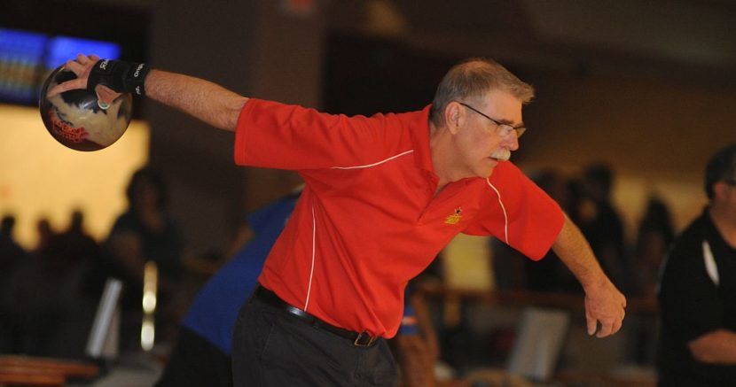 Charlie Tapp leads first round at PBA60 Dick Weber Championship