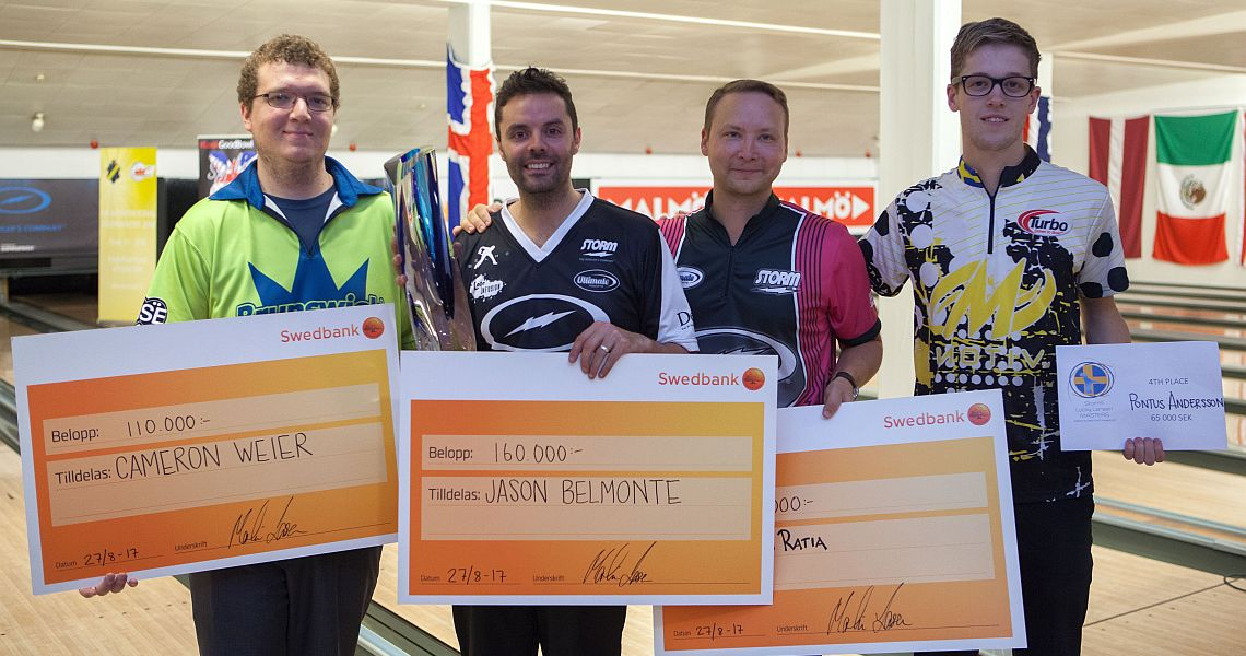 Jason Belmonte wins 15th PBA, 2nd EBT title in Lucky Larsen Masters