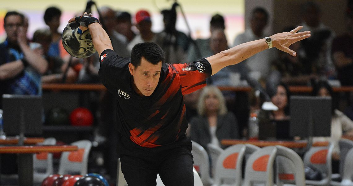 Michael Haugen Jr. off to good start in Suncoast PBA Senior U.S. Open