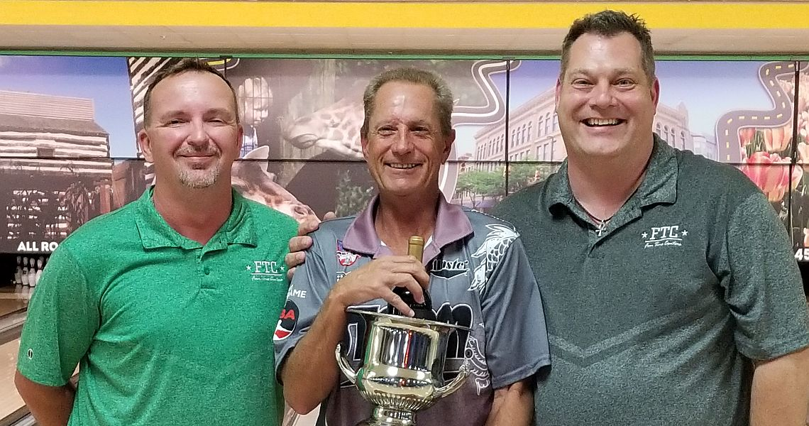 Pete Weber wins his 100th career PBA title in in Fort Wayne