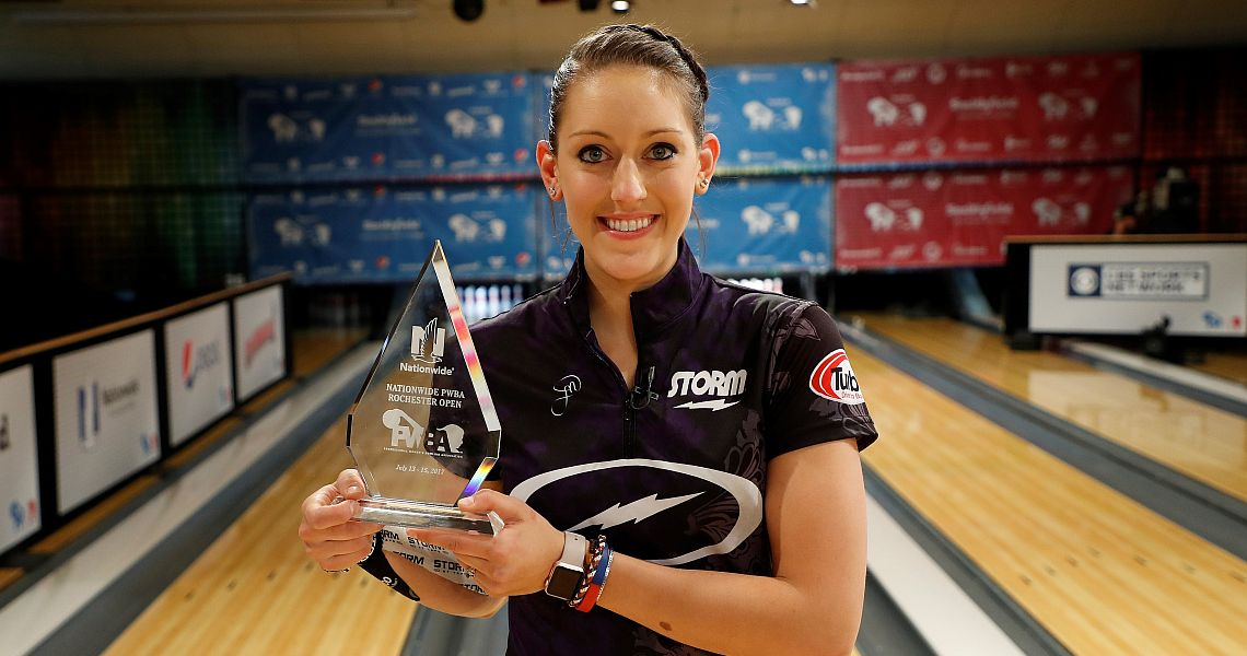 Danielle McEwan wins her third PWBA title in Rochester Open