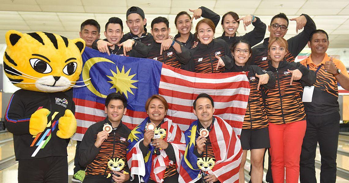 Malaysian bowlers shine in 29th SEA Games Kuala Lumpur 2017