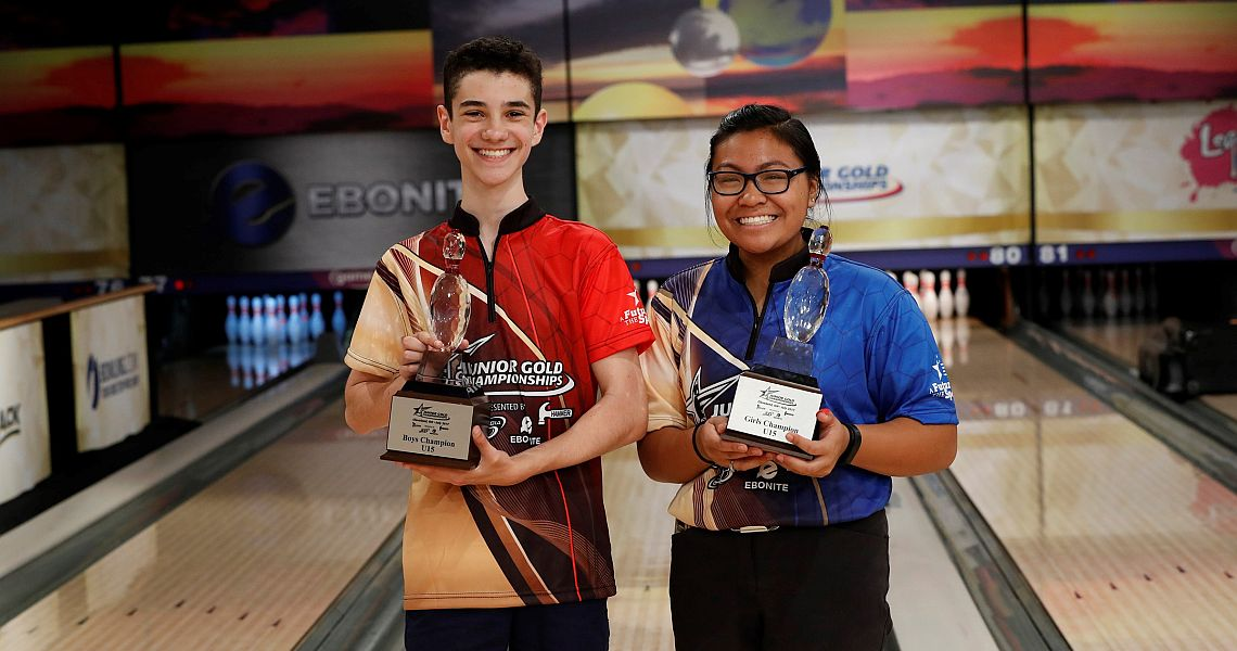 Solomon Salama, Jennifer Loredo win U15 titles at 2017 Junior Gold