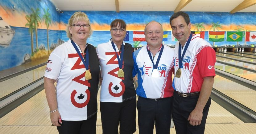 Canada, USA win Doubles gold at World Senior Championships