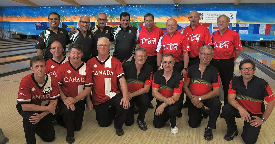 Mexican men lead World Senior Championships Team event after 3/6 games