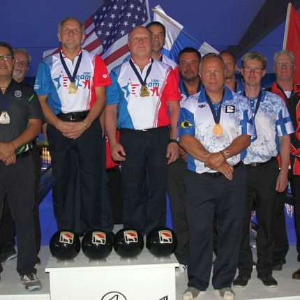 Senior Team USA men and women sweep gold medals in team event
