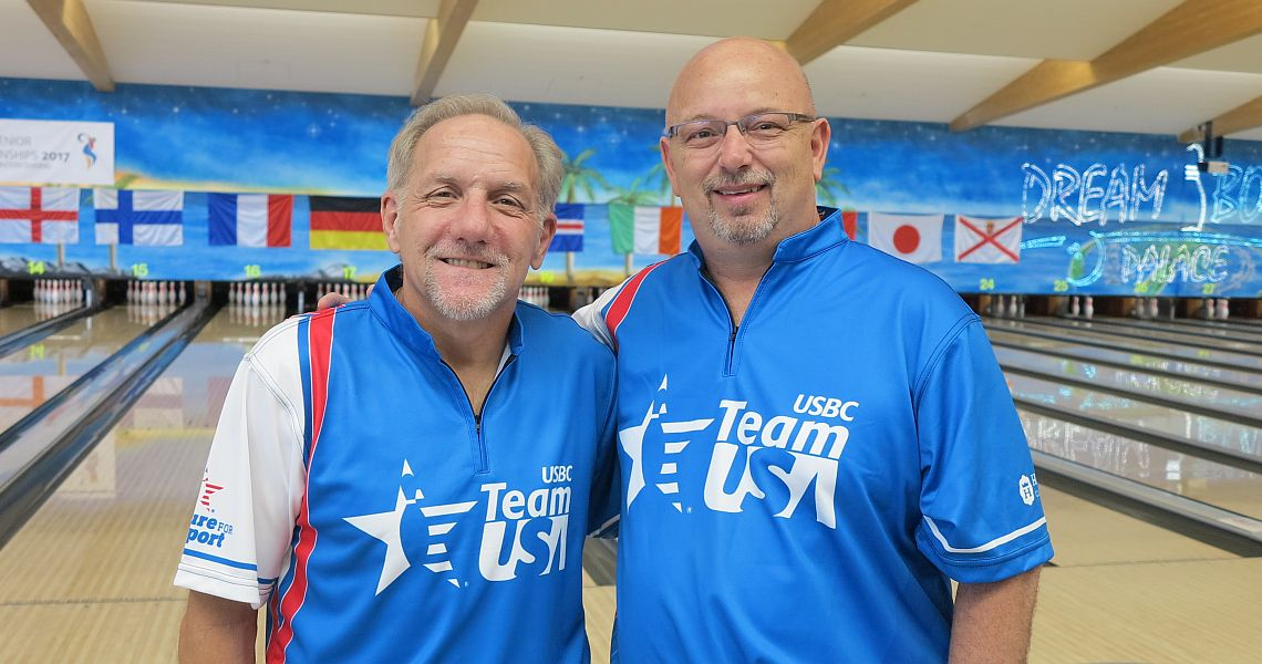 Squad B to complete Men's Singles preliminaries at World Senior Championships