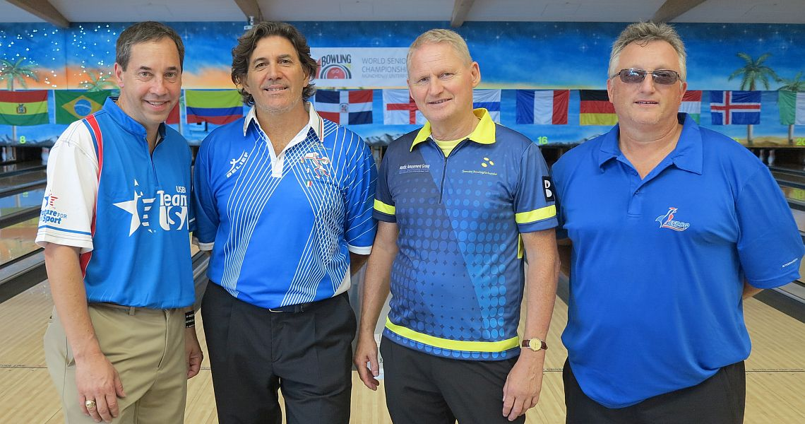 Parker Bohn III sets the tone in Singles at World Senior Championships