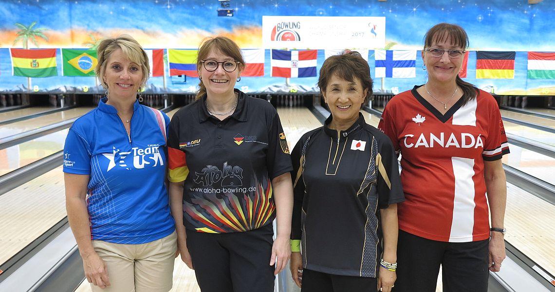 Lynda Barnes leads low-scoring Squad A in WSrC Women's Singles