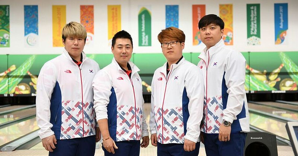 Korea earns top seed for men's and women's team finals at AIMAG