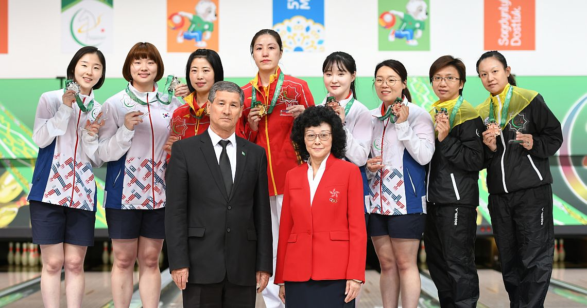 Chinese women capture gold in Doubles at AIMAG