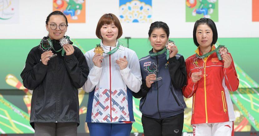 Baek, Annop claim gold in Singles to start AIMA Games