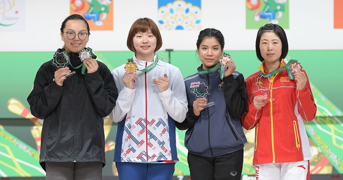 Baek, Annop claim gold in Singles to start AIMA Games