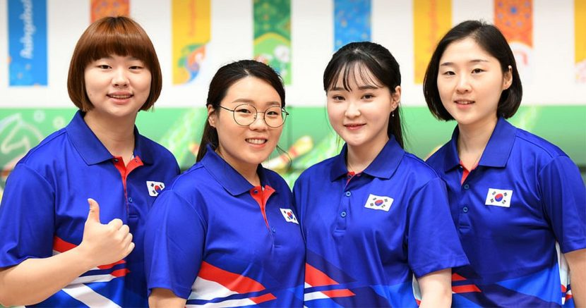 Korean women, Taiwanese men conclude AIMAG with victory in Team event