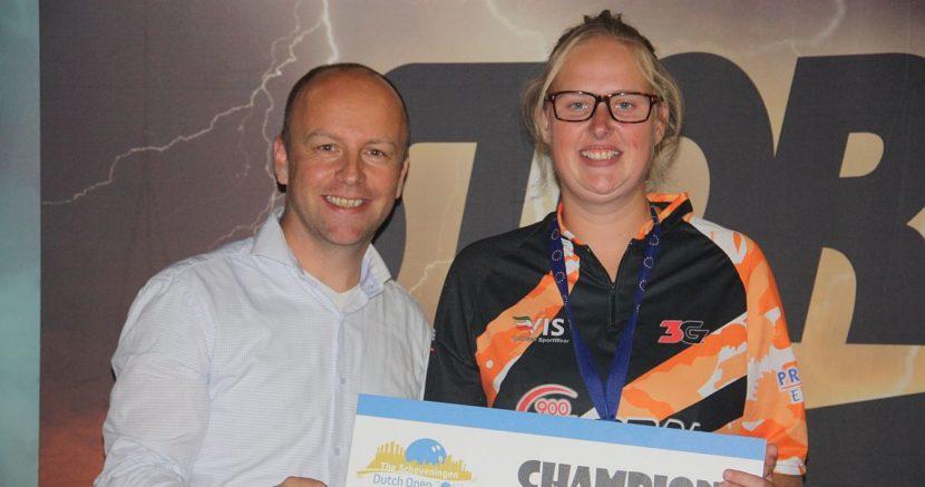 Nicole Sanders wins her first EBT title in Dutch Open