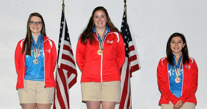U.S. girls sweep medals in U21 division at PABCON Youth