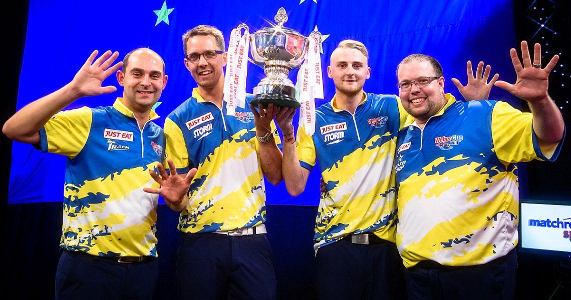 Europe romp to comfortable Weber Cup XVIII win