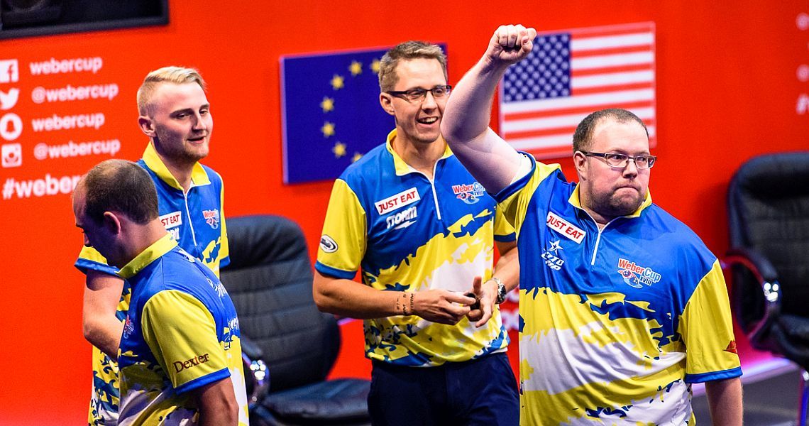 Europe pull away as US crumble in Session 4 on Sunday afternoon