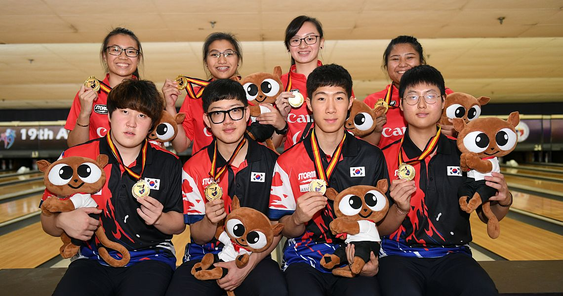 Singaporean girls, Korean boys claim Team gold at Asian Youth Championships
