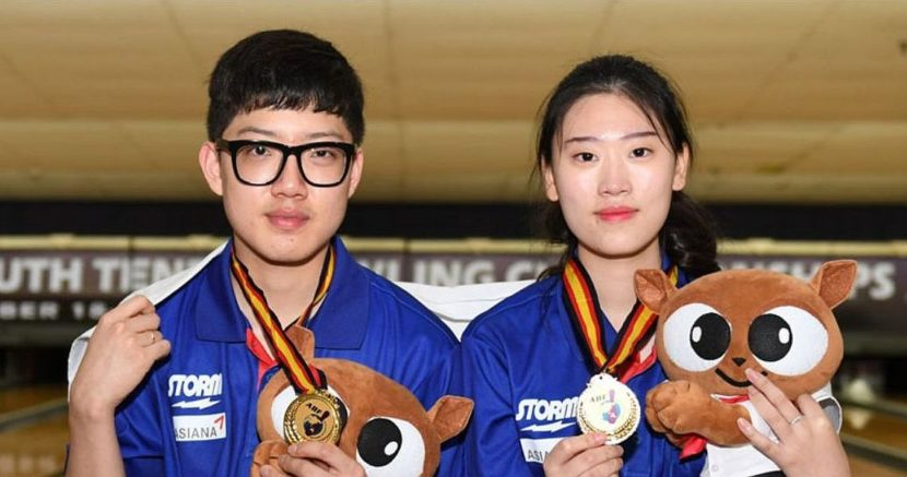 Korea's Lee Jung Min, Park Geon Ha sweep Masters gold at Asian Youth