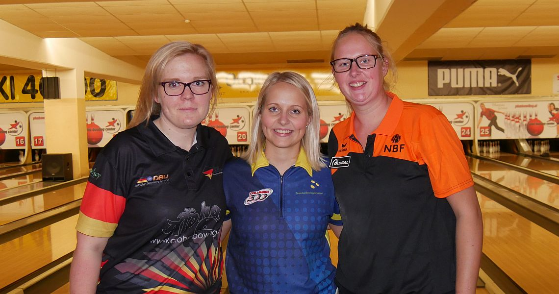 Sweden's Wegner, Wetterberg lead European Champions Cup after Round 1