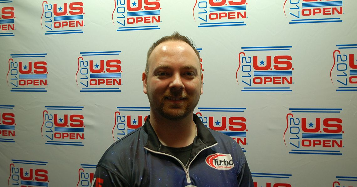 JR Raymond leads after opening round at 2017 U.S. Open