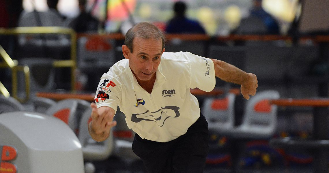 Norm Duke leads after eight games in PBA50 Mooresville Open