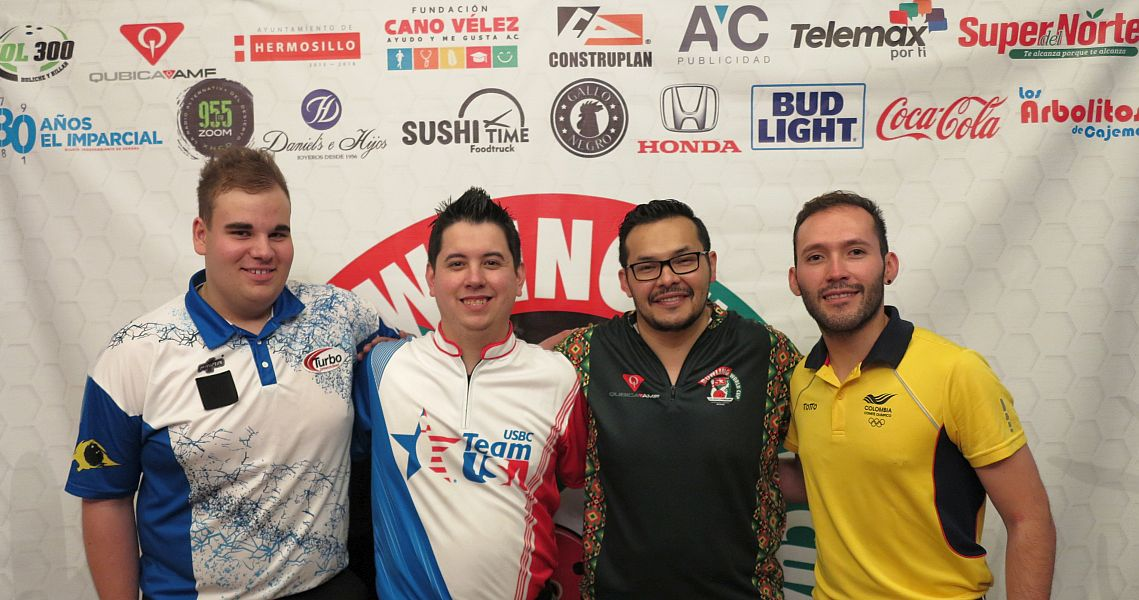 Mexico's Arturo Estrada maintains his lead after two rounds in Hermosillo
