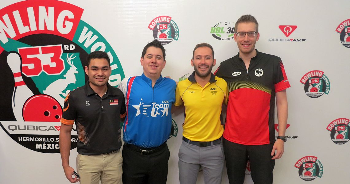 Malaysia's Ahmad Muaz averages 247.83 to take the lead in men's qualifying