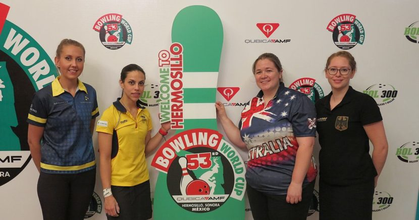 Jenny Wegner begins pulling away at 53rd QubicaAMF Bowling World Cup