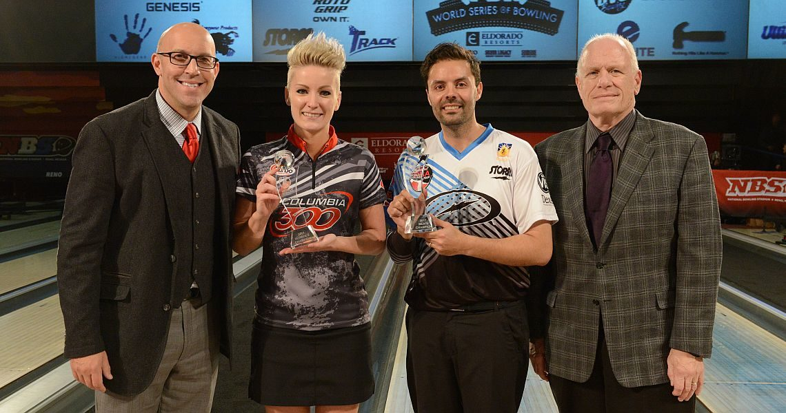 Zavjalova, Belmonte capture World Bowling Tour finals titles