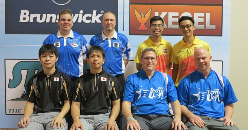 All four spots in Men's Doubles Finals go to Squad 2