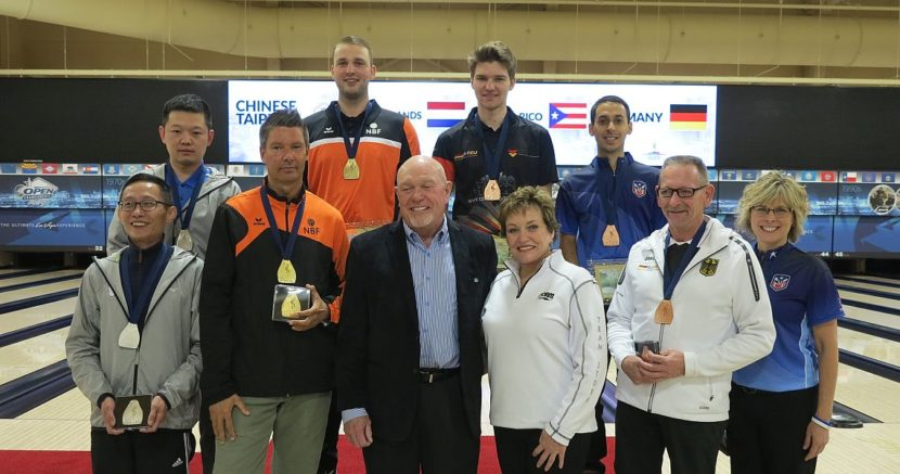 Dutch Xander van Mazijk wins gold in Men's Singles from top seed