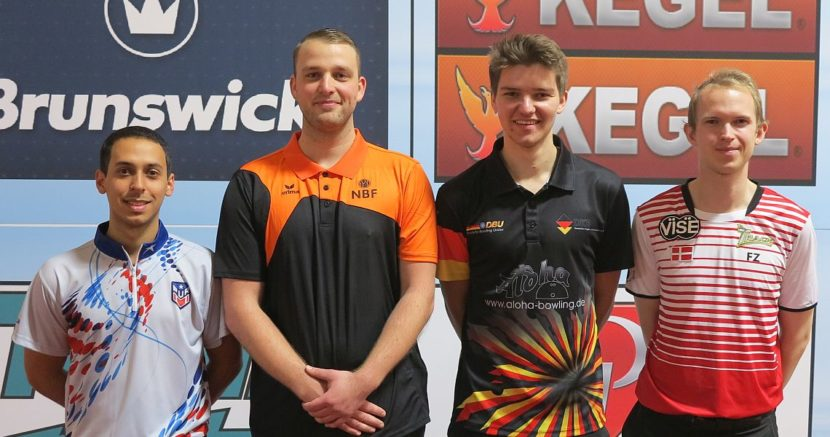 Dutch Xander van Mazijk sets the tone in Men's Singles at World Championships