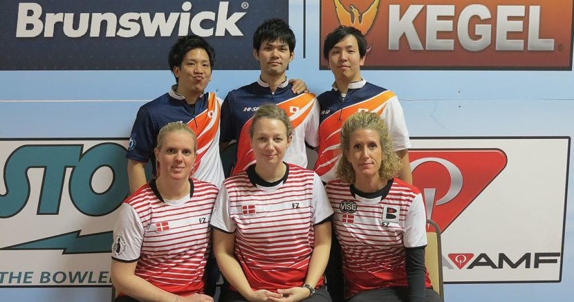 Japan, Denmark lead as Squad 2 has completed Trios preliminaries