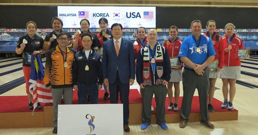 Korea's Jung Dawun, Kim Moonjeong emerge as Women's Doubles champions