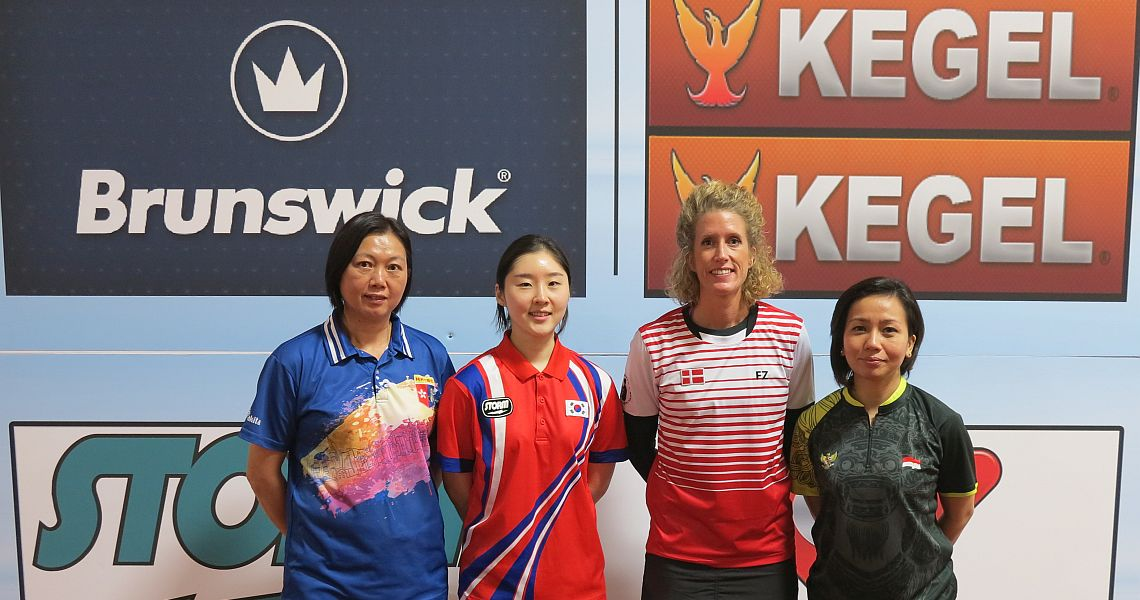 Korea's Hong Haeni sets the pace in Women's Singles to start World Championships