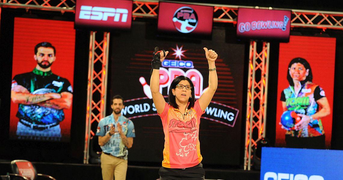 Liz Johnson becomes second woman to win PBA Tour title