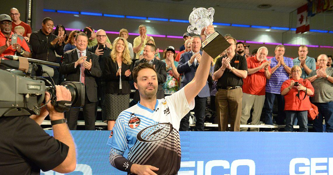 Australia's Jason Belmonte wins historic PBA World Championship