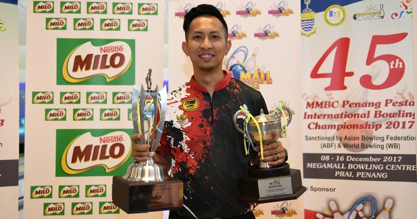 Indonesia's Ryan Lalisang win 45th MMBC Penang Pesta International