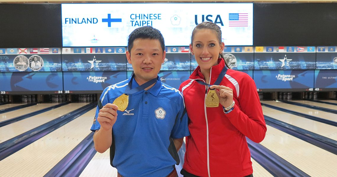 Wu Hao-Ming, Danielle McEwan capture All-Events titles