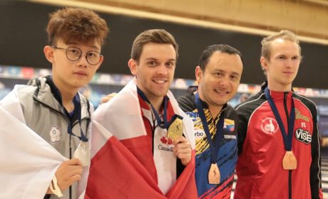 Francois Lavoie concludes 2017 Worlds with victory in Men's Masters
