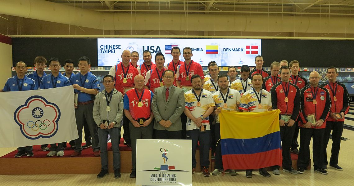 Team USA holds off Chinese Taipei to win men's Team of Five