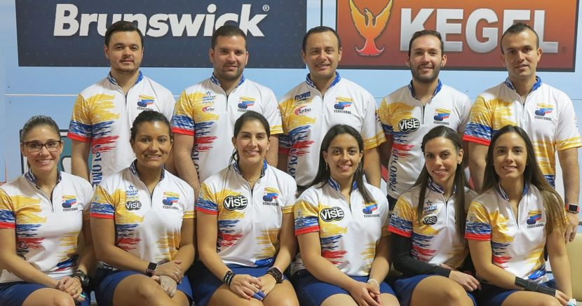 Colombian women and men lead squad 2 in five-player Team event